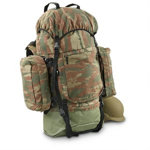 Military Style Rucksack and Packing List